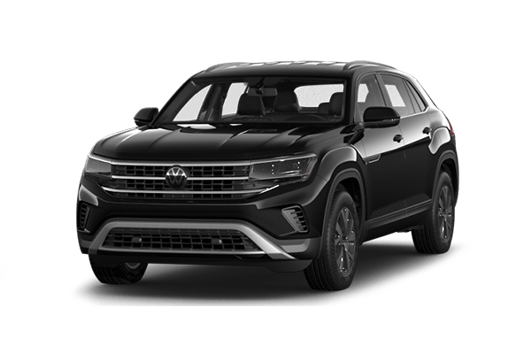 black vw atlas cross sport
