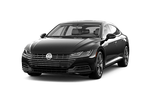 black vw arteon