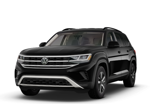 black vw atlas
