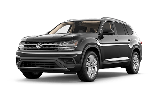 black vw atlas certified pre owned