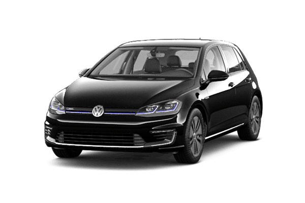 black vw e-golf certified pre owned