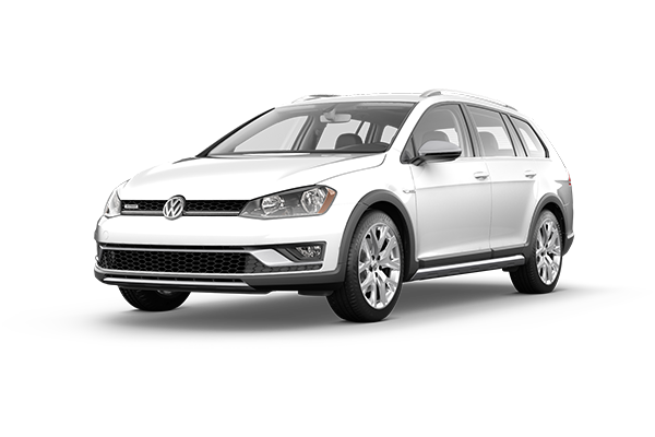 white golf alltrack cpo used vehicle
